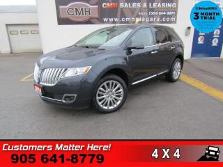 Used 2014 Lincoln MKX AWD ADAP-CC NAV CW BS CS PANO-ROOF THX-AUDIO 2X-P/SEATS for sale in St. Catharines, ON