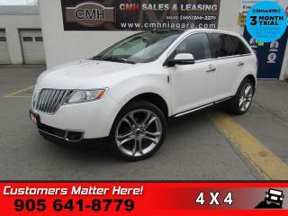 Used 2014 Lincoln MKX AWD ADAP-CRUISE CW 22 -ALLOYS NAV ROOF BS CS/HS for sale in St. Catharines, ON