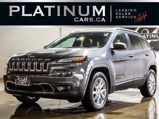 Used 2016 Jeep Cherokee Limited, 4X4, NAVI, CAM, Heated Lthr for sale in Toronto, ON