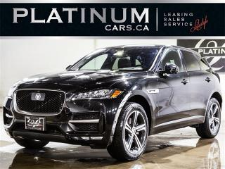 Used 2017 Jaguar F-PACE 35t R-Sport, NAV, CAM, RED Leather F-PACE for sale in Toronto, ON