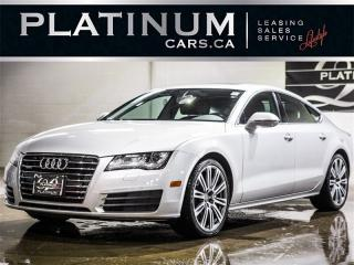 Used 2012 Audi A7 3.0T quattro Premium, Navi PRESTIGE, Quattro for sale in Toronto, ON