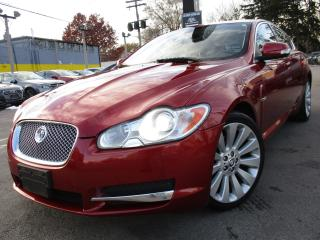Used 2009 Jaguar XF PREMIUM LUXURY~NAVIGATION~173KMS~BACK-UP CAMERA ! for sale in Burlington, ON