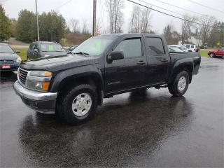 Used 2005 GMC Canyon Z85 4x4 Leather sunroof 113 miles safetied 1SB SLE Z85 for sale in Madoc, ON