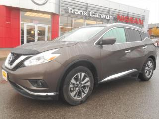Used 2016 Nissan Murano SL for sale in Peterborough, ON