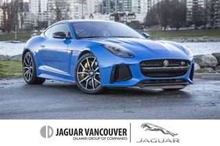 Used 2018 Jaguar F-Type Coupe SVR AWD (2) *Certified! for sale in Vancouver, BC