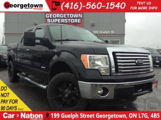 Used 2011 Ford F-150 XLT XTR | 4X4 | CREW | 3.5L | 6 PASS | ONE OWNER for sale in Georgetown, ON