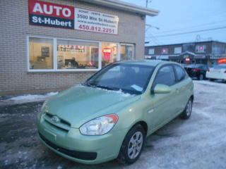 Used 2007 Hyundai Accent for sale in St-Hubert, QC