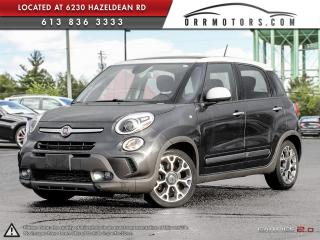 Used 2014 Fiat 500 L Trekking for sale in Ottawa, ON