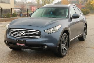 Used 2009 Infiniti FX35 NAVI | DVD | Sunroof | AWD | CERTIFIED for sale in Waterloo, ON