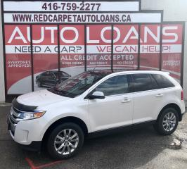 Used 2013 Ford Edge Limited LIMITED-0% DOWN ALL CREDIT ACCEPTED for sale in Scarborough, ON