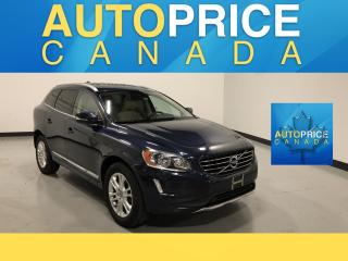 Used 2015 Volvo XC60 3.2 PANOROOF|LEATHER|AWD for sale in Mississauga, ON
