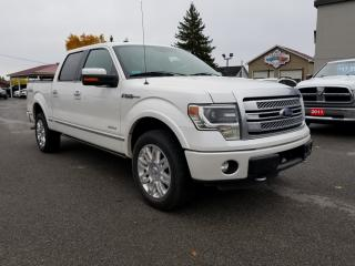 Used 2013 Ford F-150 LARIAT PLATINUM for sale in Kemptville, ON