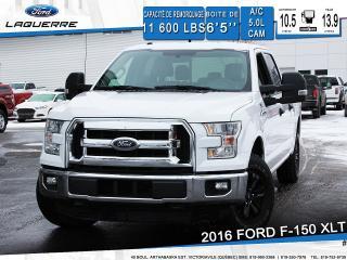 Used 2016 Ford F-150 Xlt Cam 5.0l A/c for sale in Victoriaville, QC