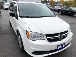Used 2012 Dodge Grand Caravan SE.  Full STOW-N-GO for sale in St Catharines, ON