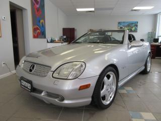 Used 2001 Mercedes-Benz SLK AMG / LOCAL CAR / ACCIDENT FREE for sale in Newmarket, ON