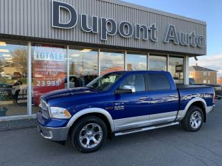 Used 2015 RAM 1500 Ram Laramie Cabine muliplaces 4X4, Laram for sale in Alma, QC