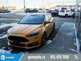 Used 2015 Ford Focus ST OVER 250 HP POWER OPTIONS NAV VERY NICE for sale in Edmonton, AB