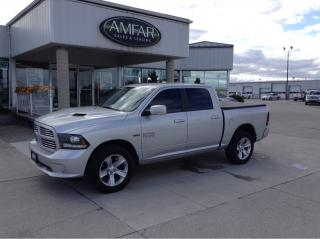Used 2014 RAM 1500 Sport / CREW CAB / 4X4 / NO PAYMENTS FOR 6 MONTHS for sale in Tilbury, ON