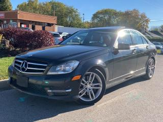 Used 2014 Mercedes-Benz C-Class C 300-4MATIC-NAVI-LEATHER-HEATED SEATS-NO ACCIDENT for sale in Mississauga, ON