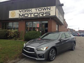 Used 2015 Infiniti Q50 V|Sport|TechPkg|NAV|Sunroof|Leather for sale in North York, ON
