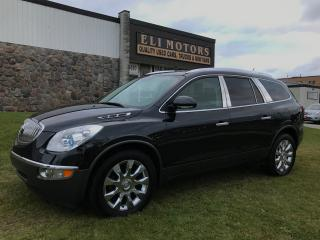Used 2012 Buick Enclave CXL2 | AWD | NAVI | TV-DVD | Remote Start | for sale in North York, ON