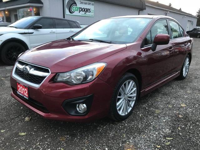 2012 Subaru Impreza Premium Plus 4-Door S/R