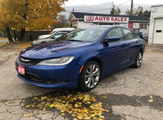 Used 2015 Chrysler 200 S/AWD/Certified/Accident Free/Bluetooth for sale in Scarborough, ON