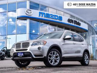 Used 2014 BMW X3 Xdrive28i, NO ACCIDENTS, FINANCE AVAILABLE for sale in Mississauga, ON