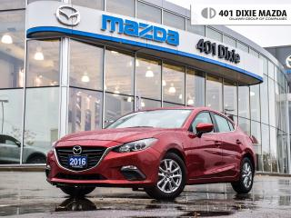 Used 2016 Mazda MAZDA3 GS, 1.9% FINANCE AVAILABLE, for sale in Mississauga, ON