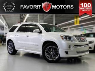 Used 2012 GMC Acadia Denali AWD, Sunroof, Navi, Leather for sale in North York, ON
