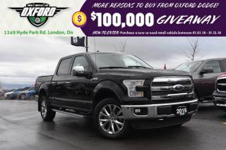 Used 2016 Ford F-150 Lariat - 5.0L, 4x4, Awesome Truck, loaded with fea for sale in London, ON