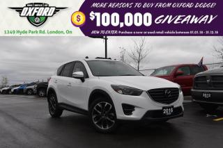 Used 2016 Mazda CX-5 GT - 5 year unlimited warranty, super low kms, sky for sale in London, ON