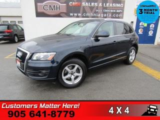 Used 2009 Audi Q5 3.2 quattro Premium  V6 AWD NAV DUAL-ROOF P/GATE HS P/SEATS for sale in St. Catharines, ON
