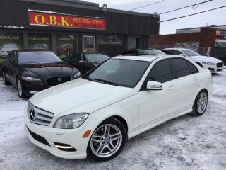 Used 2011 Mercedes-Benz C-Class C300 Awd-Toi Ouvrant for sale in Laval, QC