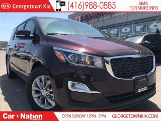 Used 2019 Kia Sedona LX+ | $224 BI-WEEKLY | POWER DOORS | for sale in Georgetown, ON