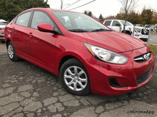 Used 2012 Hyundai Accent automatique, bas millage for sale in Drummondville, QC