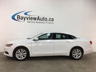 Used 2018 Chevrolet Impala 1LT -ALLOYS! REM STRT! SUNROOF! HTD LTHR! APPLE/ANDROID AUTO! REV CAM! HTD WHEEL! CRUISE! for sale in Belleville, ON