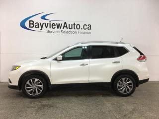 Used 2015 Nissan Rogue SL - PANOROOF! NAV! REVERSE CAM! BLUETOOTH! PUSH START! PWR LIFTGATE! BSA! for sale in Belleville, ON
