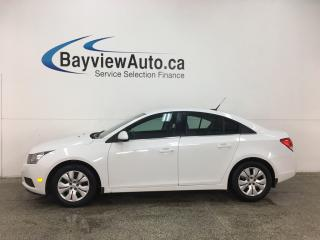 Used 2014 Chevrolet Cruze 1LT - ONSTAR! REVERSE CAM! BLUETOOTH! A/C! CRUISE! for sale in Belleville, ON