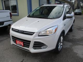 Used 2016 Ford Escape 'GREAT KM'S' SE MODEL 5 PASSENGER 1.6L - ECO-BOOST.. 4WD.. LEATHER TRIM.. NAVIGATION.. PANORAMIC ROOF.. BACK-UP CAMERA.. for sale in Bradford, ON