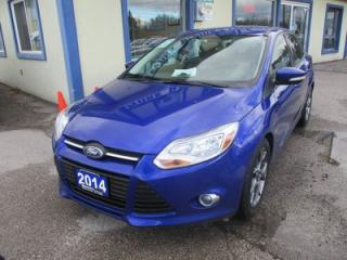 Used 2014 Ford Focus 'GREAT VALUE' SE EDITION 5 PASSENGER 2.0L - DOHC.. SYNC TECHNOLOGY.. KEYLESS ENTRY.. BLUETOOTH SYSTEM.. for sale in Bradford, ON