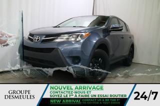 Used 2014 Toyota RAV4 LE * SPACIEUX * ÉCONOMIQUE * AUTOMATIQUE for sale in Laval, QC