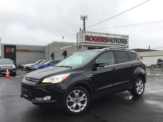 Used 2015 Ford Escape TITANIUM 4WD - NAVI - PANO ROOF - REVERSE CAM for sale in Oakville, ON