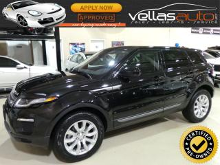 Used 2018 Land Rover Evoque SE| 4X4| NAVIGATION| PANO RF| REAR CAMERA for sale in Vaughan, ON