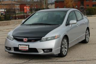 Used 2009 Honda Civic SI CERTIFIED for sale in Waterloo, ON