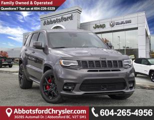 New 2019 Jeep Grand Cherokee SRT for sale in Abbotsford, BC