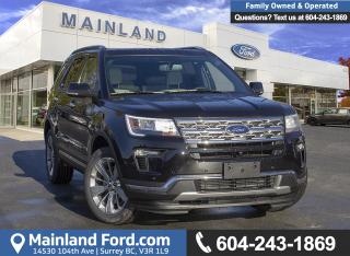 New 2019 Ford Explorer LIMITED for sale in Surrey, BC