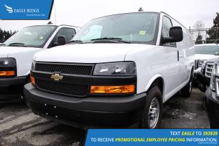 Used 2018 Chevrolet Express 2500 Work Van Low KM, Backup Camera for sale in Coquitlam, BC
