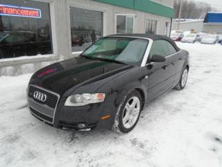 Used 2007 Audi A4 Décapotable 2 portes 2007, boîte automat for sale in St-Jérôme, QC