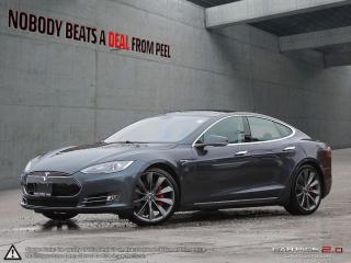 Used 2014 Tesla Model S P85 21 Whls, Roof, Hifi Sound, Smart Suspension EV for sale in Mississauga, ON